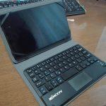 タブレット用のキーボードを買いました